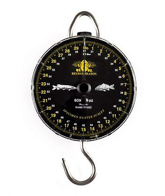 Reuben Heaton NEW Specimen Hunter Fishing Scales 60lb by 1oz *Classic*