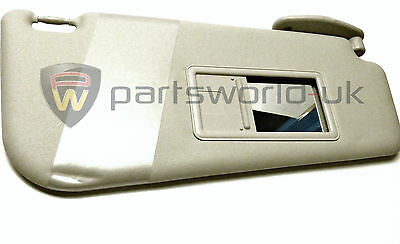 New Genuine Fiat offside / drivers side sunvisor Mk2 Mk2B Punto 99-05 735272579