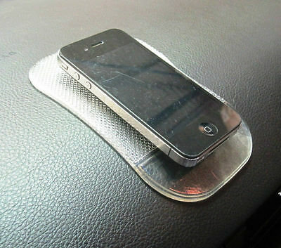 200 Non Slip Car Dash Clear Gel Mat For All Mobiles Inc Iphone