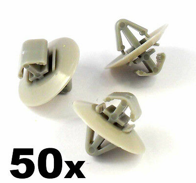50x Clips for Renault Trafic Traffic Side Moulding / Lower Protection Door Trim