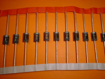 10x 1500 Watt / 350V TVS Suppressor Diode 1,5KE350A 1,5kW