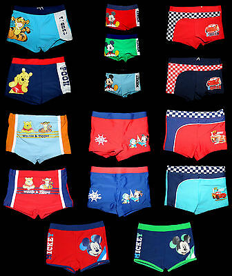 Disney Winnie Tigger Cars Mickey Badehose Boxer 62 68 74 80 86 92 98 Baby Kind