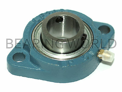 """NEW SBLF202-10G  High Quality 5/8"""" Set Screw Bearing with 2 Bolt Flange"""
