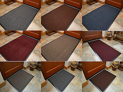 Large Size Dark Machine Washable Barrier Mats Kitchen Hall Door Thin Bright Mat
