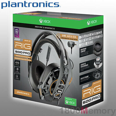 PLANTRONICS RIG 500 PRO HX Xbox One Gaming Headset With