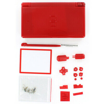 Replacement Mario Red Housing Shell kit for DS Lite, NDSL, DSL Casing Plastics