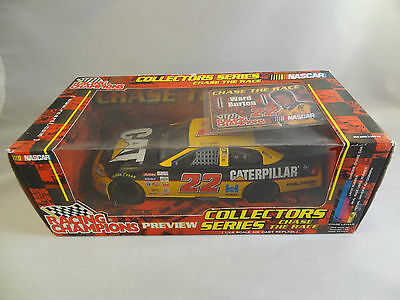 Ward Burton #22 CAT Nascar Preview Chase the Race 1:24 Die-cast Racing Champions