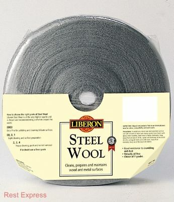 Liberon Steel Wool - High Quality Steel Wire Wool - 1kg