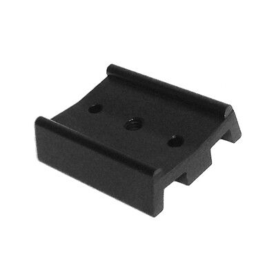 Telescope dovetail mounting plate for equatorial tripod. Short, 50mm long