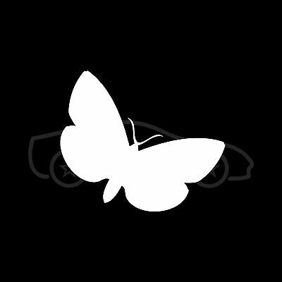 Butterfly Sticker Car Window Vinyl Decal Laptop Lucky Girlie Fly Cute Gift S2
