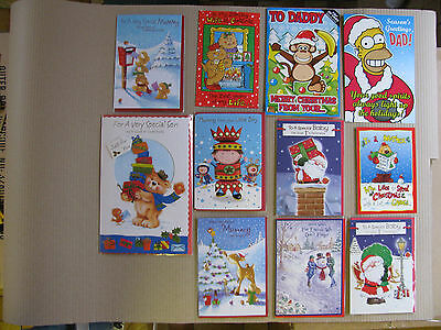 Christmas Cards Wife Brother Dad Santa Goddaughter Best Wishes Novelty Merry