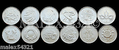 Canada 2000 Complete Millenium 25 Cents Set (12 Coins) Uncirculated