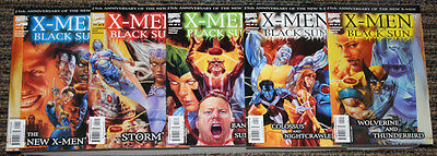 Marvel X-Men: Black Sun # 1-5 COMPLETE SET Claremont - LOW PRINT RUN