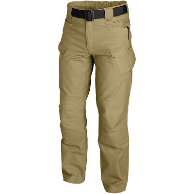 Helikon Utp Tactical Trousers Mens Cargo Pants Police Security Forces Coyote Tan
