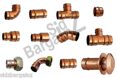 Solder Ring Yorkshire Copper Fittings VARIOUS SIZES 15 22 8 10 28mm