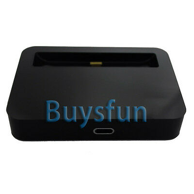 Black Data Sync 8Pin Dock Charger Cradle Docking for Apple iPod Touch 5 5G