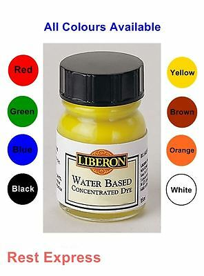 Liberon Concentrated Water Based Wood Dye - 15ml - All Colours