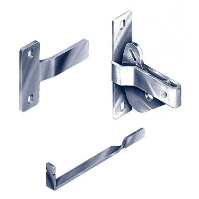 Elgate Gate Latch DLK D-Latch Striker Handle General-Purpose Zinc Plated