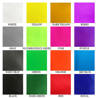 FREE SHIPPING Thin Coated Waterproof Nylon Ripstop Fabric For Kite / Tent Making