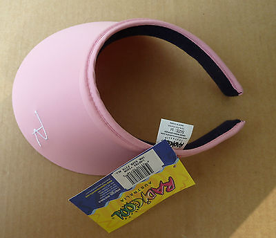Radicool Microfibre Visor (5x colours) One size fits all hat  NWT  Postage FREE