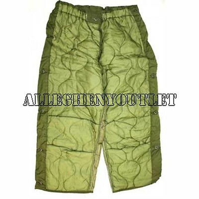 US Military INSULATED FIELD PANT LINER M65 Hunting Trouser XS S M L XL VGC