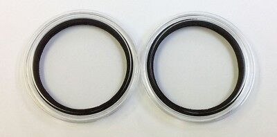 Set (2) 47mm Air Tite with Foam Rings Casino Poker Chips Holders 2 Air Tites *