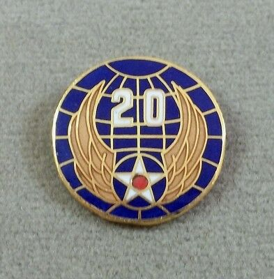 US Army Air Force 20th Air Force Pin  / Clutchback / Style A