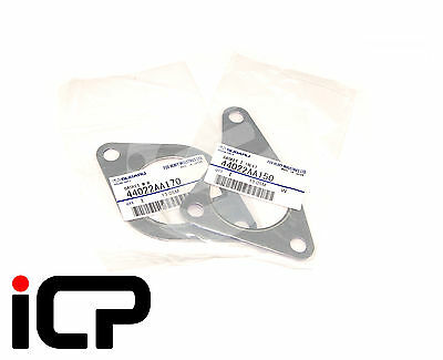 Genuine Up Pipe Gaskets Top & Bottom Fits Subaru Impreza 2.5 WRX & STi Hawkeye