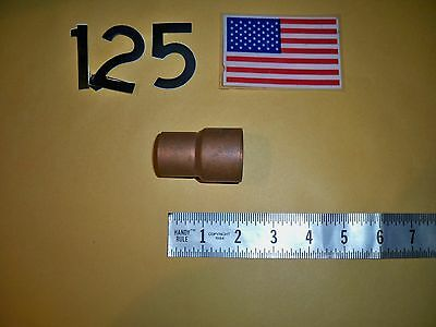 "1-1/4""  X 1""   Reducing Coupling  Copper  Solder Sweat Type  Plumbing   Nos"
