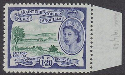 ST. CHRISTOPHER, NEVIS AND ANGUILLA - 1963 $1.20c. Shade - UM / MNH