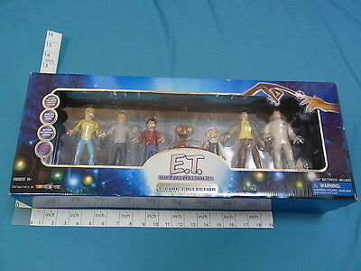 E.T. The Extra Terrestrial Limited Edition Figure Collection EMS (GHJN