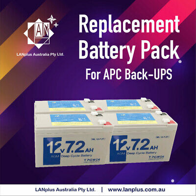 Replacement Battery Pack RBC24 For APC UPS 1000 2U DLA SUA1000RMI2U RT1000