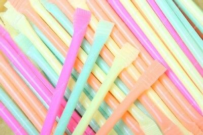 SWIZZELS MATLOW RAINBOW DUST STRAWS x240 RETRO PARTY BAG SWEETS SHERBET