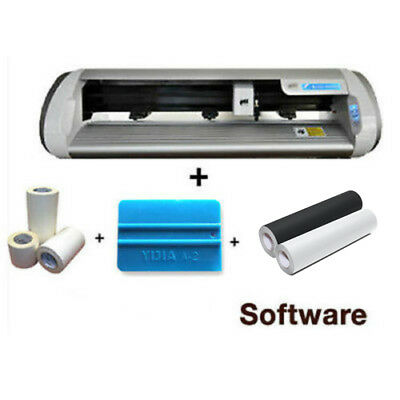 Vinyl Cutter Plotter Bluetooth* Cb730 Sign & Making,cam,package Deal Do Not Miss