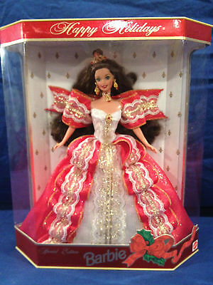 1997 Holiday Barbie Doll 10th Anniversary CHRISTMAS  Special Collectors Edition