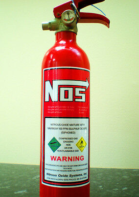new nitrous oxide injection bottle sticker drag jdm nos race drift noz N2O etc