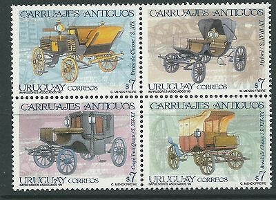 Uruguay 1999 - Transport Carriages - Sc 1790 MNH