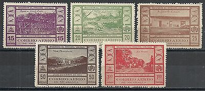 Nicaragua 1932 YV Airmail 47-51 signed  MLH  VF