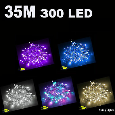 35M 300 Led Christmas Party Wedding Fairy String Light  Rope Lights
