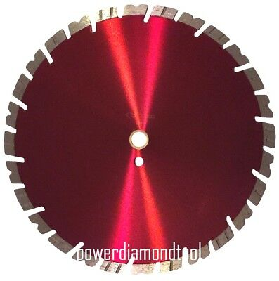"14"" POWERFUL ORIGINAL Supreme 15MM Brick/Paver/Concrete Diamond Saw Blade-BEST"