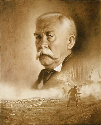 """""""Virgil Earp: Day of Decision"""" Don Crowley Fine Art Giclee Canvas"""