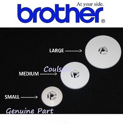 100% Genuine BROTHER SEWING MACHINE SPOOL PIN CAP DISC STOPPER Embroidery Stop