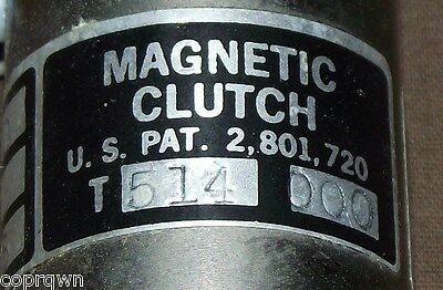 Sterling Instruments Magnetic Clutch Model T-514 NOS 3010-978-9654 Ships Free!!