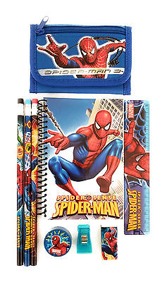 Marvel Spider Man Wallet Canvas Tri-fold Bill Coin Pocket Kid Boy Gift