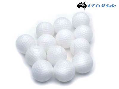 NEW 24 (2 x 12-Pack) DELUXE DIMPLE DIMPLED PRACTICE GOLF TRAINING BALL BALLS