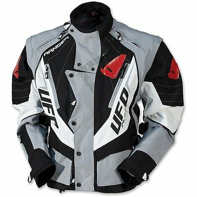 New Ufo 2015 Motocross Enduro Jacket Black Xx Large 4370