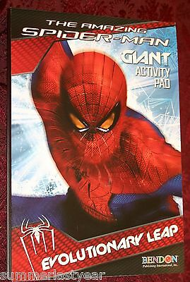 ****THE AMAZING SPIDERMAN***GIANT COLORING AND ACTIVITY PAD / BOOK***NEW***