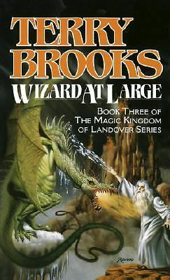 Wizard at Large Bk. 3K. by Terry Brooks (1989, Paperback)