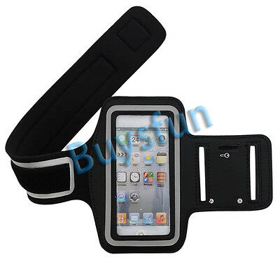 New Black Sport Gym Armband Case Cover For Apple iPod Touch 5 5G 5TH