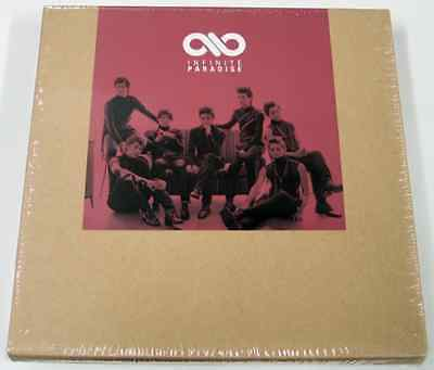 """INFINITE  """"PARADISE""""  1st Special Repackage Album : CD+Poster+GiftPhoto- Kpop"""